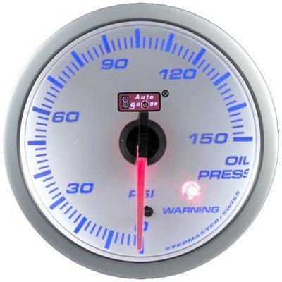 60mm Oil Press Blue Racer (WHITE FACE)