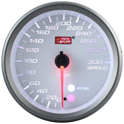 80mm Speed Meter White
