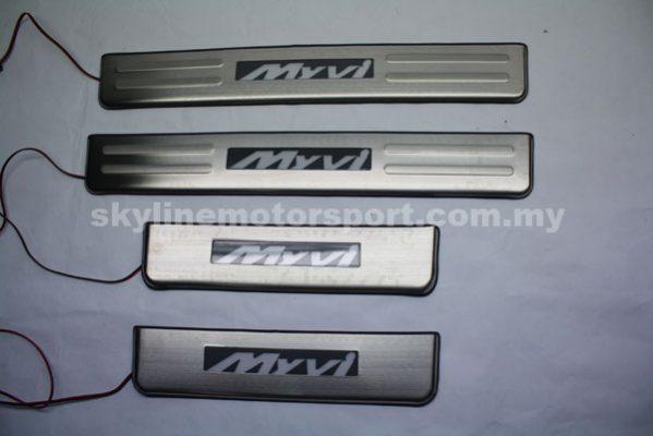 Perodua Myvi 2011 Sid Steel Plate Led