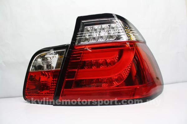 Bmw E46 98-01 4Dr Led Light Bar T-L