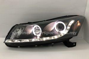 Honda Accord 08-10 Projector H/L DRL LED Ring