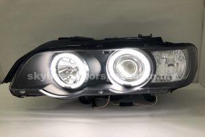 BMW X5 E53 98-02 Projector H/L CCFL Ring Black