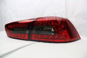 Mitsubishi Lancer 07-11 LED T-L Red/Smoke