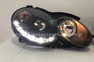Mercedes Benz CLK W209 04-09 Projector H/L Black (H1)