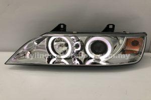 BMW Z3 96-02 Projector H/L LED Ring Chromed