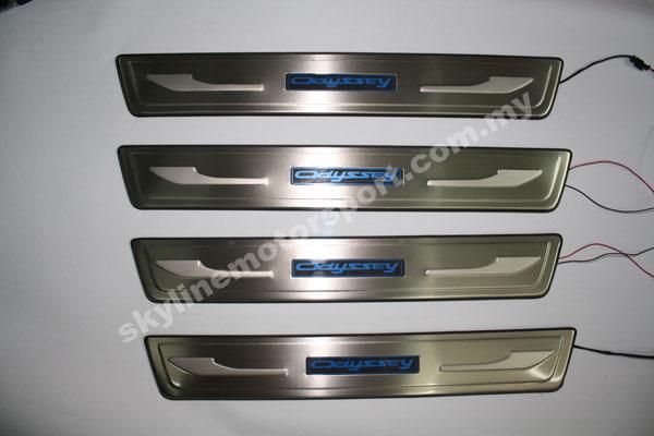 Honda Odyssey Rb1 03-05 Side Steel Plate Led