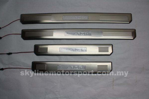 Mercedes W209,204,211_212 Side Steel Plate Led