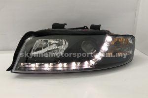 Audi A4 B6 01-04 Projector H/L DRL LED Black