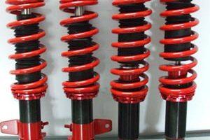 Proton Wira Adjustable Spring