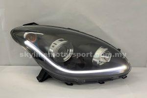 Perodua Myvi 05-10 Projector H-L DRL Light Strip Led Black