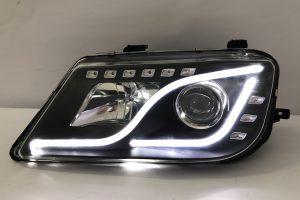 Proton Waja Projector H/L DRL LED Black