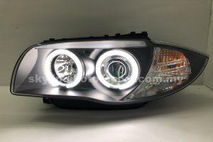 BMW E87 04-11 Projector H/L CCFL Ring Black