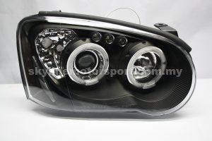 Subaru Impreza GDB 03-05 Projector H-L DRL  Led  Black