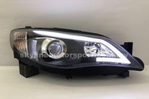 Subaru Impreza GRF/GRB 07-13 Projector H/L DRL Light Strip Black