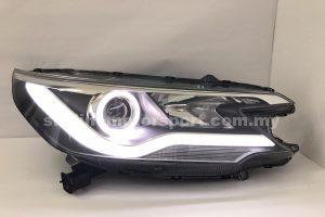 Honda CRV 13-15 Projector H/L LED Ring Black (H1)