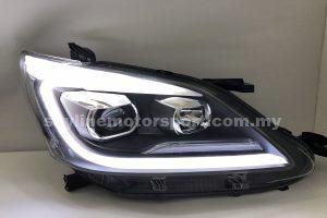 Toyota Innova 12-14 Projector H-L DRL Light Strip Black