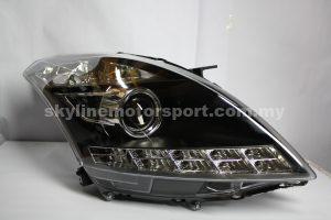 Suzuki Swift 10-14 Projector H-L DRL Led Black