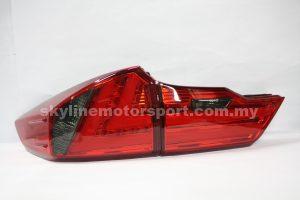 Honda City 14-15 Led T-L Light Bar R/S