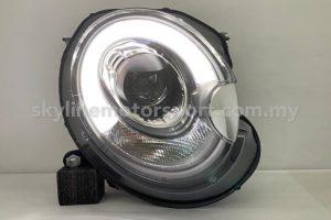 Mini Cooper R55/56 06-12 Projector H/L DRL LED Black