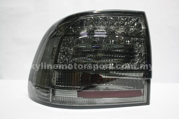 Porsche Cayenne 03-07 LED T/L Smoke