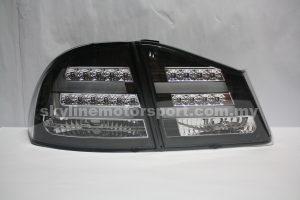 Honda Civic 06-10 Led T-L Light Bar Black