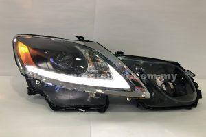 Lexus GS350/300 06-11 Projector H/L DRL LED Black (D4S)