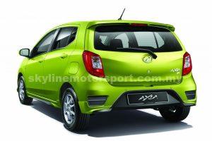 Perodua Axia14-16 Rear Spoiler ABS Made In Malaysia