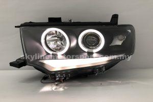 Mitsubishi Pajero Sport 09-14/Triton 13-16 Projector H/L DRL LED Ring Black (H1)