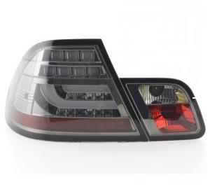 Bmw E46 99-02 Coupe 2Dr Led T-L Light Bar Smoke