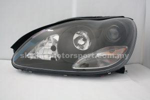 M,Benz S-Class W220 98-02 H-L Crystal Black