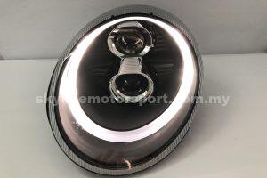 Porsche 997 05-09 Dual Projector H/L DRL LED Black (D2S)