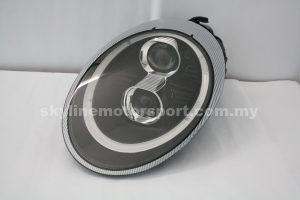 Porsche 997 05-09 Dual Projector H/L DRL Led (D2S)Black