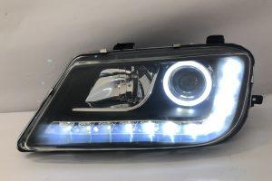 Proton Waja Projector H/L DRL LED R8 Style Black