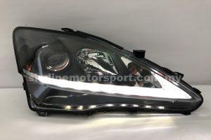 Lexus IS250 06-11 Projector H-L DRL Led Black (H7)