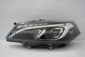 Proton Saga FLX Projector H/L DRL LED Black