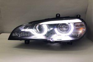 BMW X5 E70 07-13 Projector H/L DRL LED Black (D2S)
