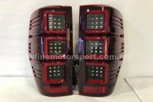 Ford Ranger 11-18 LED T/L Light Bar Black R/C