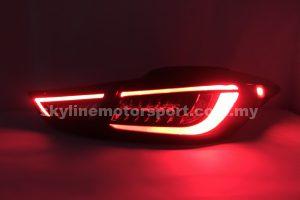 Hyundai Elantra 11-16 Led T-L Light Bar Black(WSRF)