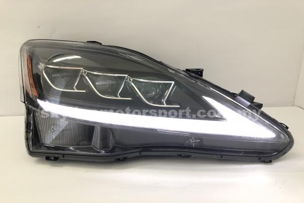 Lexus IS250 06-12 LED H/L New Style Black (WSRF)