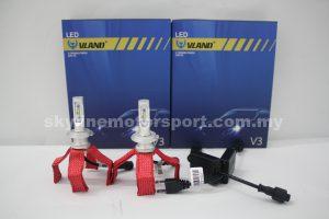 Vland Led Head Lamp H7 6000K