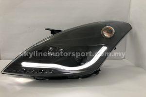 Suzuki Swift 10-15 Projector H/L DRL Light Strip Black