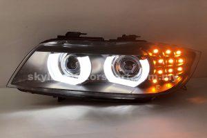 BMW E90 09-11 Projector H/L DRL LED Black (D1S)