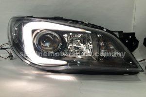 Subaru Impreza GDB 05-09 Projector H/L DRL LED Black (D2S)