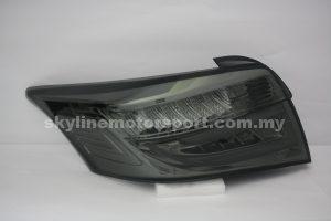 Toyota Vios 14-18 LED T/L Light Bar Smoke