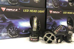 Triple S LED Head Light Bulb H4 6000K