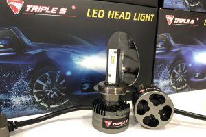 Triple S LED Head Light Bulb H7 6000K