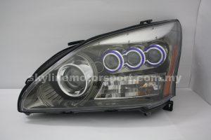 Toyota Harrier 04-09 Projector Head Lamp Black