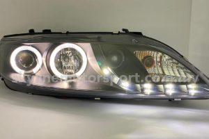 Mazda 6 02-07 Projector H/L DRL LED Black