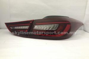 Hyundai Elantra 11-16 LED T/L Light Bar Dark Red (WSRF)