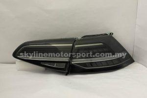 Volkswagen Golf MK7 12-15 LED T/L Light Bar Black  (WSRF)